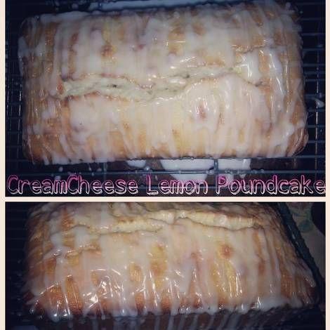 Cream Cheese Lemon Pound Cake