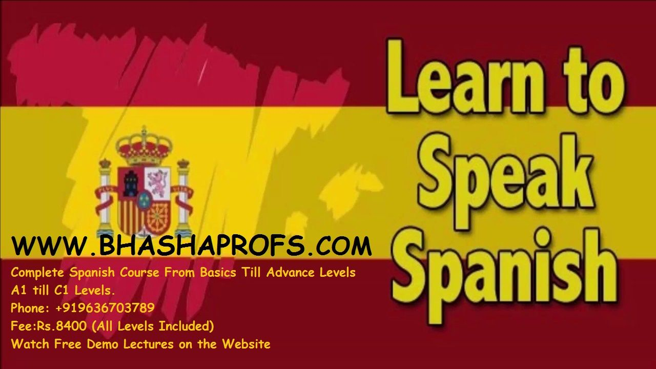 Online spanish language classes in india learn online