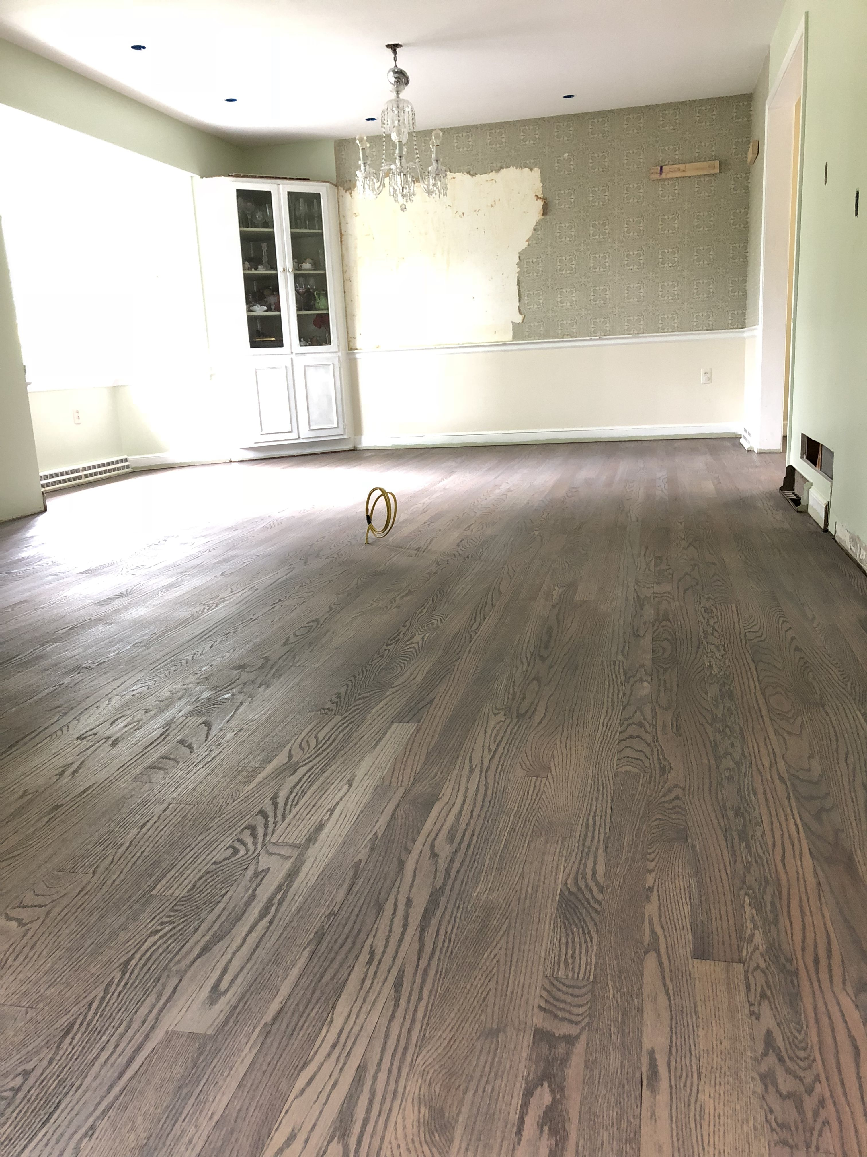 My Floors 50 Half Classic Grey Special Walnut And A Smidge Of Jacobean Applied With Rag Fo Hardwood Floor Colors Oak Floor Stains Wood Floor Stain Colors