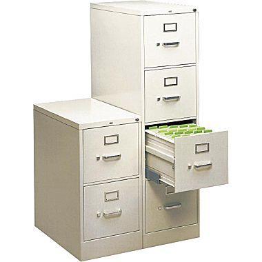 Unique Hon S380 Vertical File Cabinet
