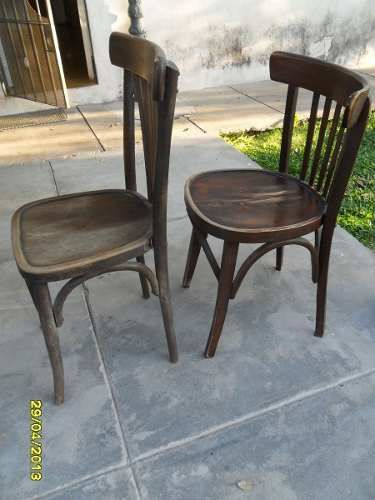Antigua Sillas Tipo Thonet, Butaca De Bar $ 230 Cu | Sillas