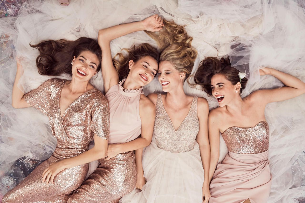 Mismatched bridesmaid dresses are made easy with brideside thanks bridesmaid dresses online ombrellifo Gallery