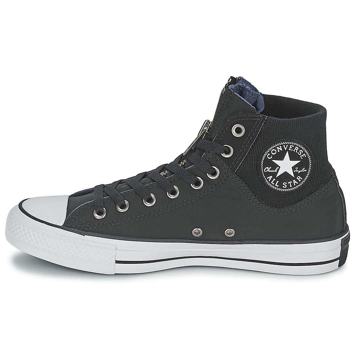 Converse CHUCK TAYLOR ALL STAR HERRINGBONE - HI - Baskets montantes gris FAtUlnQJH