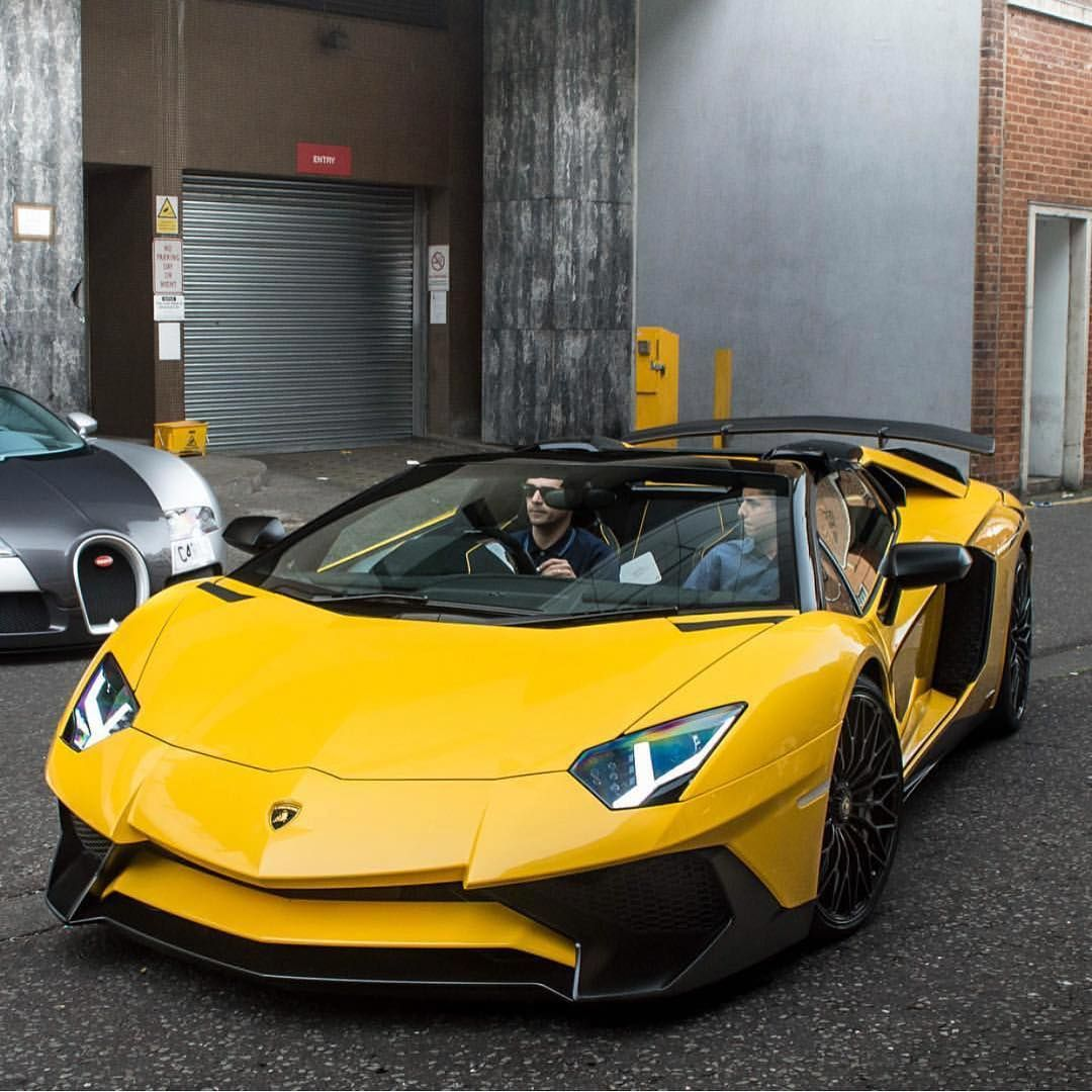 Yellow SV Roadster Luxury cars range rover, Luxury cars
