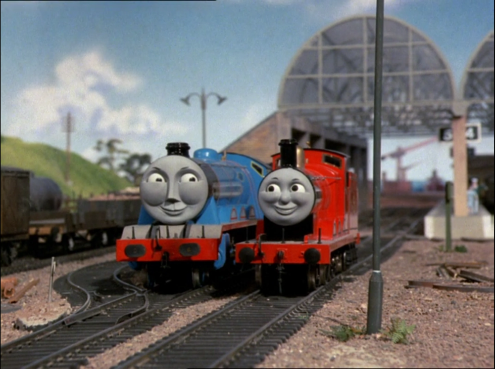 James And The Express Gallery Thomas The Tank Engine Wikia Fandom In 2021 Thomas The Tank Engine Thomas The Tank Thomas And Friends