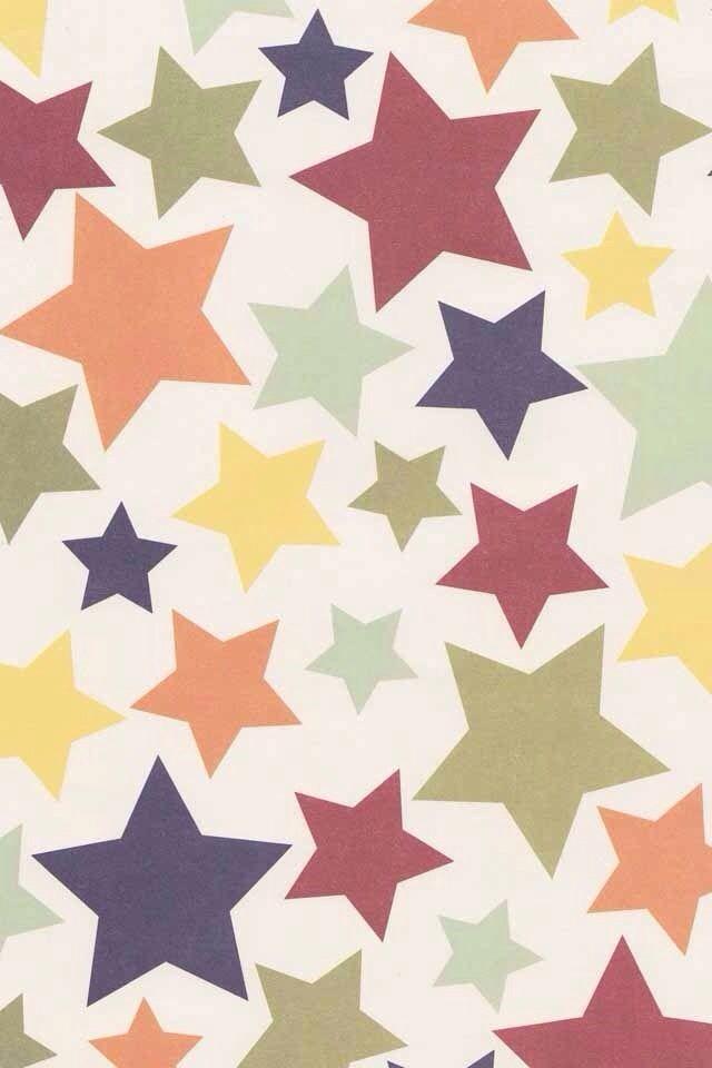 Cute Stars Background Star Background Phone Wallpaper Design Wallpaper