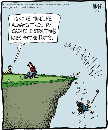 Watch your step in golf! | golf, women and golf, golf humor, meme, sports meme, golf art, sports art | #golf #golfhumor