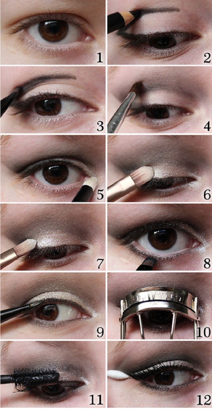 Top 10 Simple Makeup Tutorials For Hooded Eyes Makeup For Small