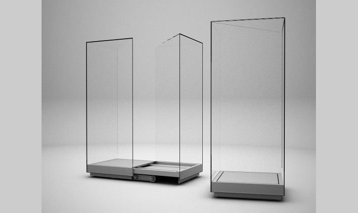 how to build small glass display boxes