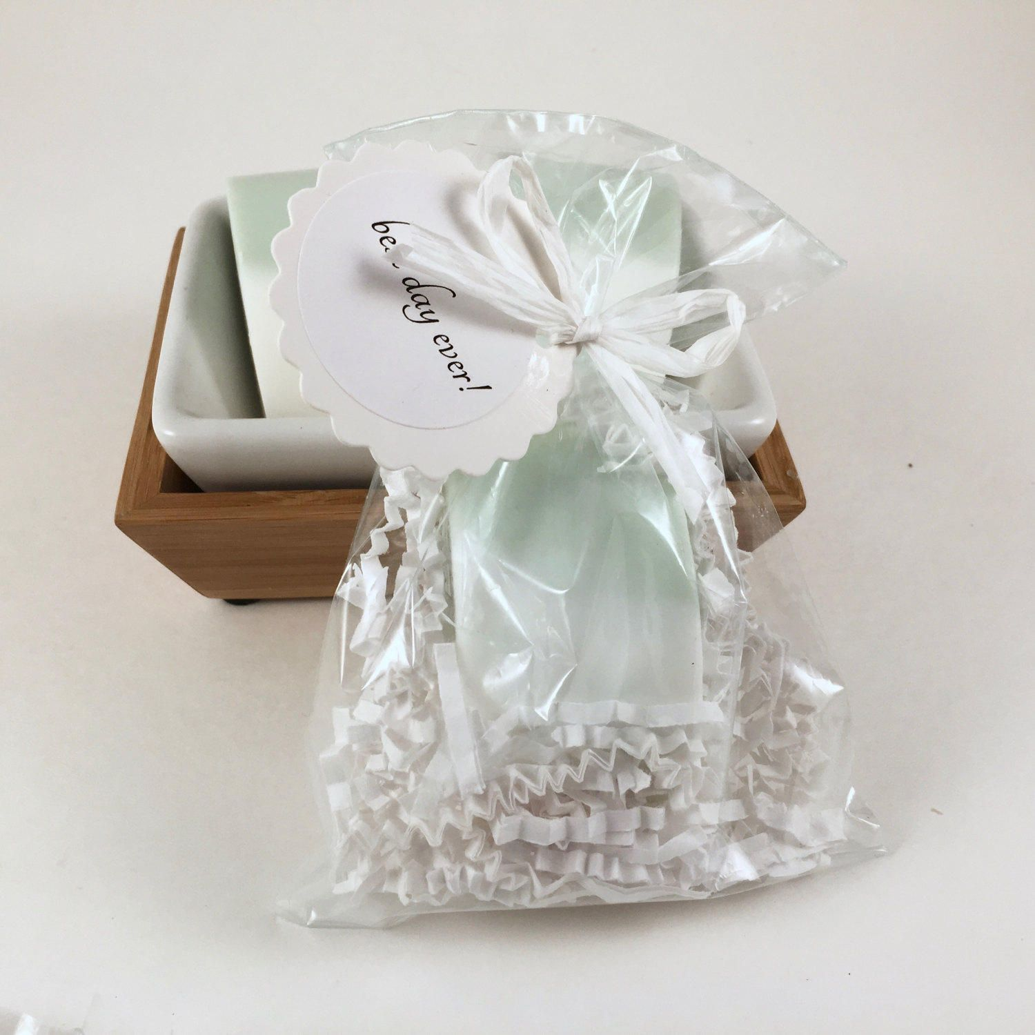 Bridal Shower Party Favors, Greenery, 20 Shea Butter Sage Green Soap ...