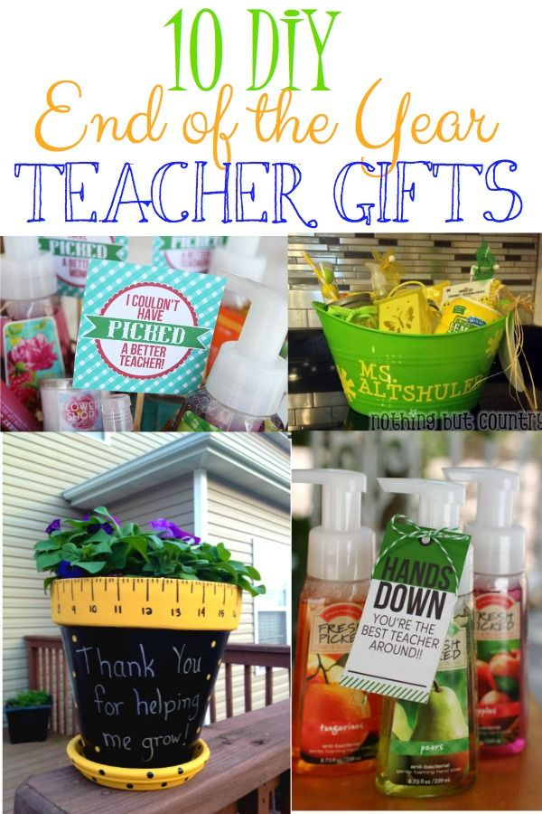 10 Diy End Of The Year Teacher Gifts Blog Leah With Love