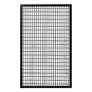 Wire Partition Panel W 4 Ft X H 7 Ft Fence Panels Modern Fence Design Fence