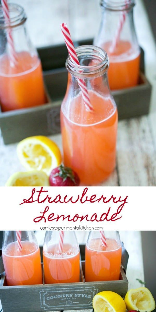 Strawberry Lemonade | Carrie's Experimental Kitchen
