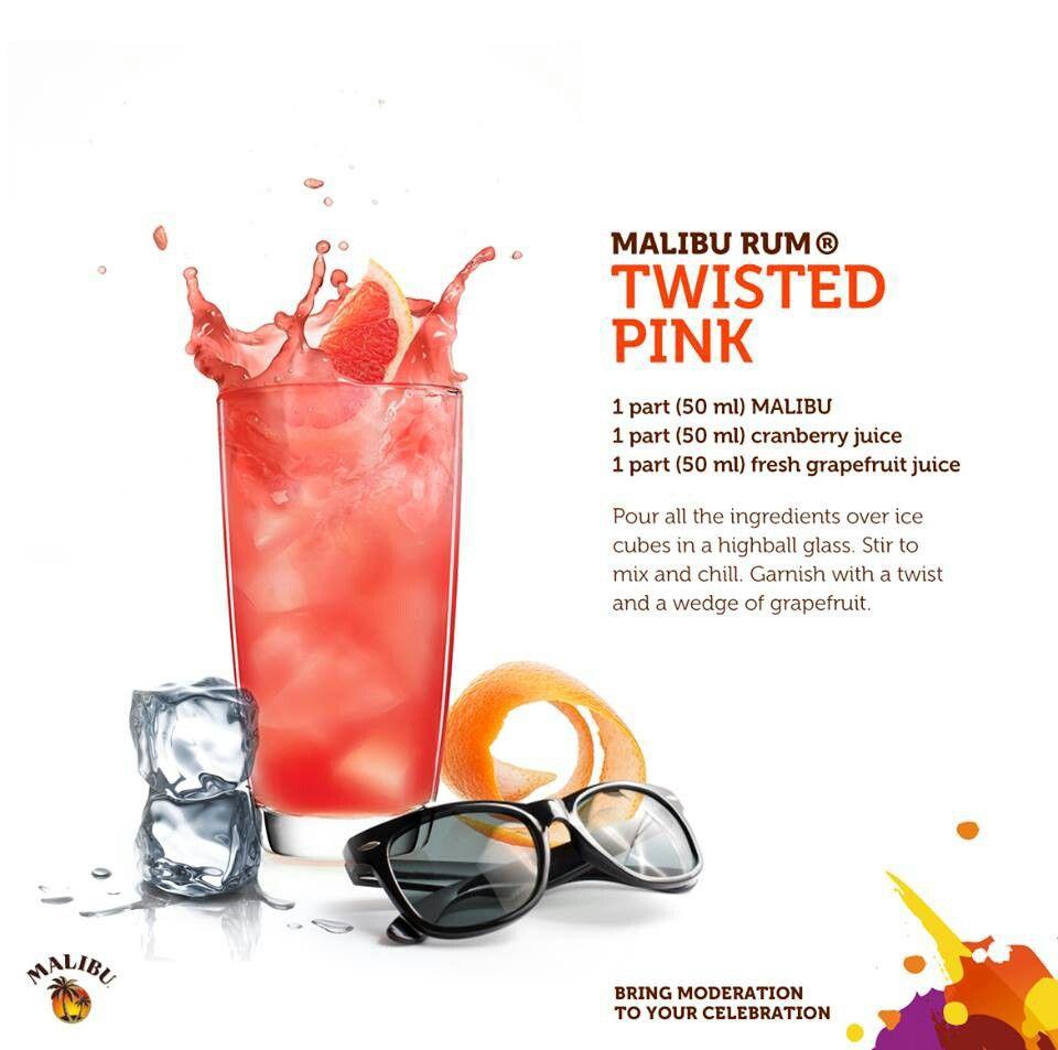 Malibu Rum #drinks #cocktails #drinkrecipes