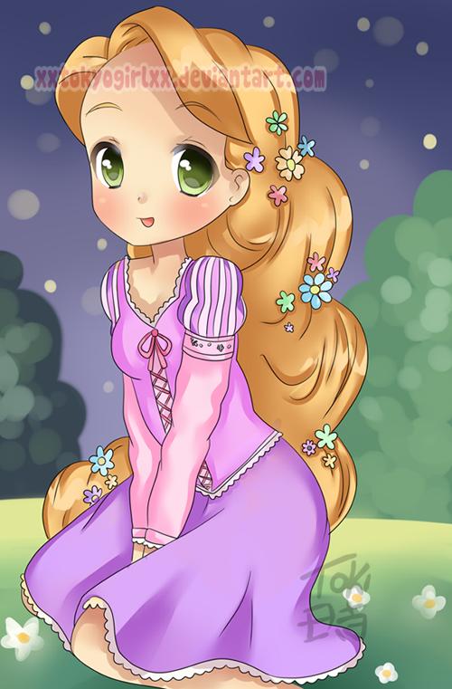 Rapunzel by xXTokyoGirlXx.deviantart.com