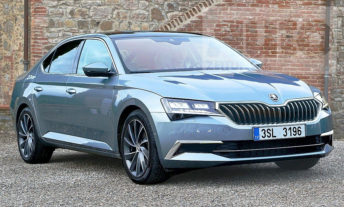 Skoda Superb Facelift 2019 Erste Informationen Picture Release