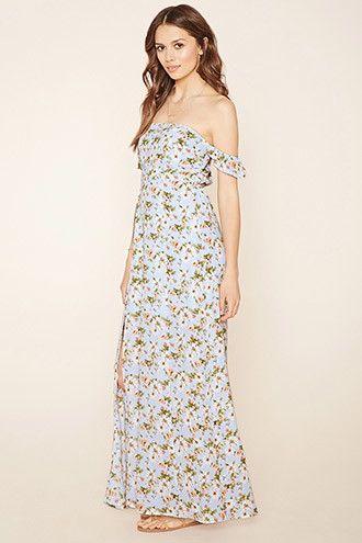 0c32c957c70 Contemporary Floral Maxi Dress
