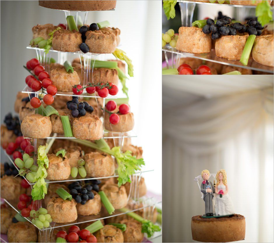 pork pie wedding tower 2016 Trends Food Pinterest
