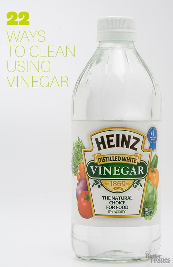 22 Ways To Clean With Vinegar