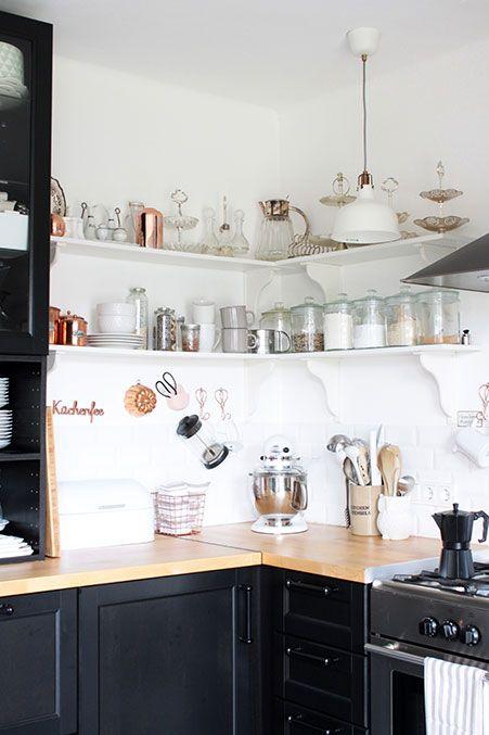 Wohnideen Vintage Stil küche im modernen scandi look wohnideen interiors