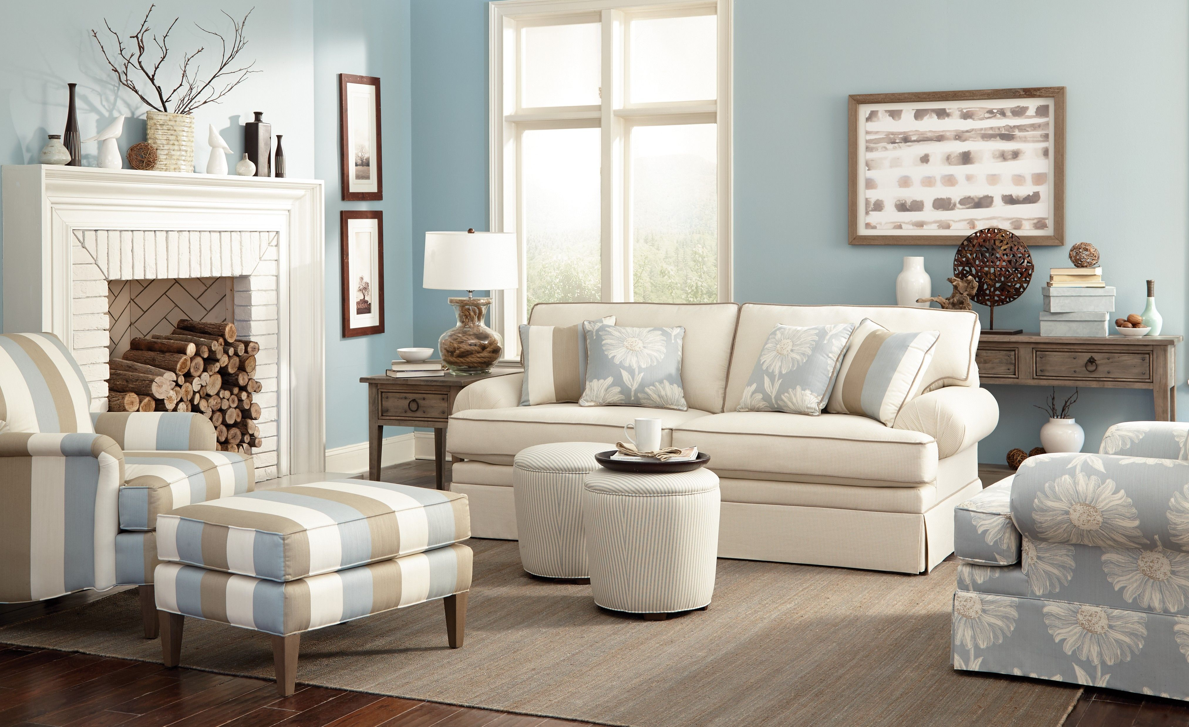 Craftmaster Furniture Essentials Comfortable seating with beautiful ...