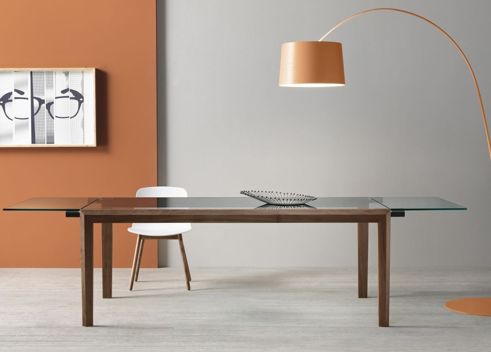 Tonelli Mobili ~ Tonelli lapsus glass extending dining table furniture pinterest
