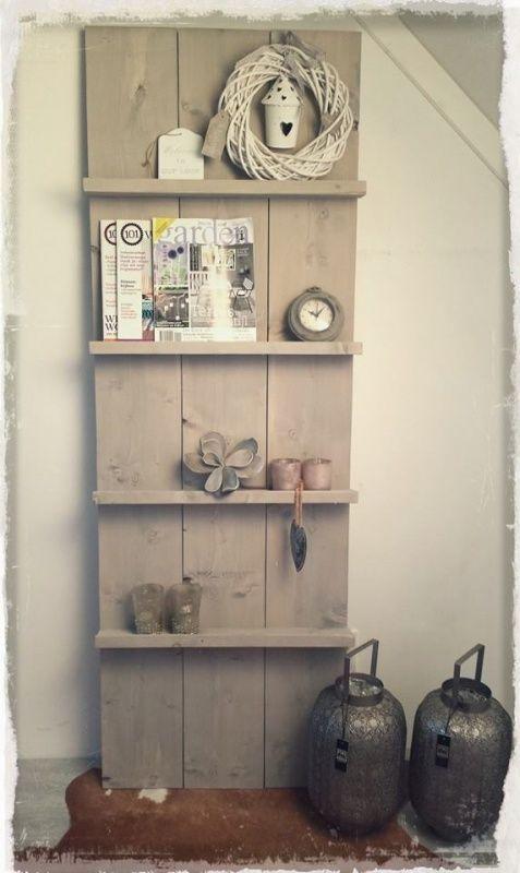Interieur   Eigentijds wonen met steigerhout meubels – Stijlvol ...