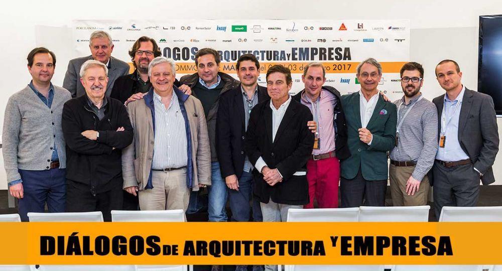 Finaliza Diálogos de arquitectura y empresa MADRID