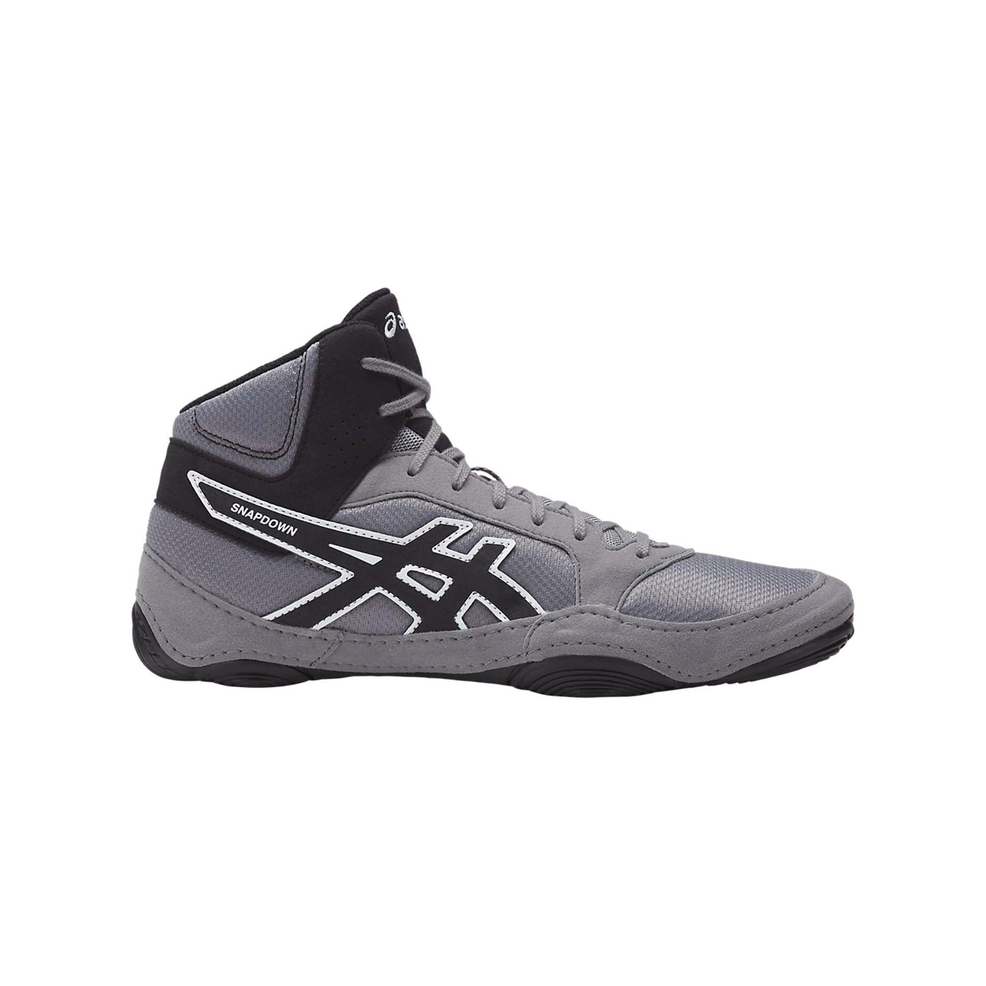 Men's Snapdown Asics 2 Aluminumblacksilver Wrestling Shoes E2YD9WIH