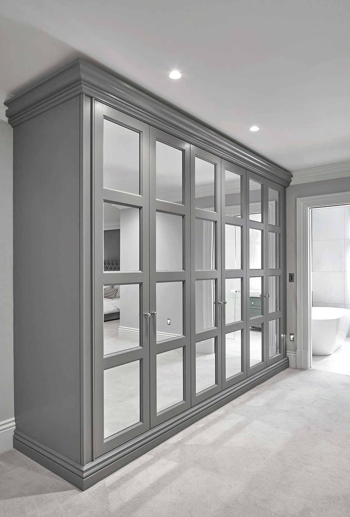 Fulham london the heritage wardrobe company kapak model pinterest fulham wardrobes for Built in wardrobes in bedroom