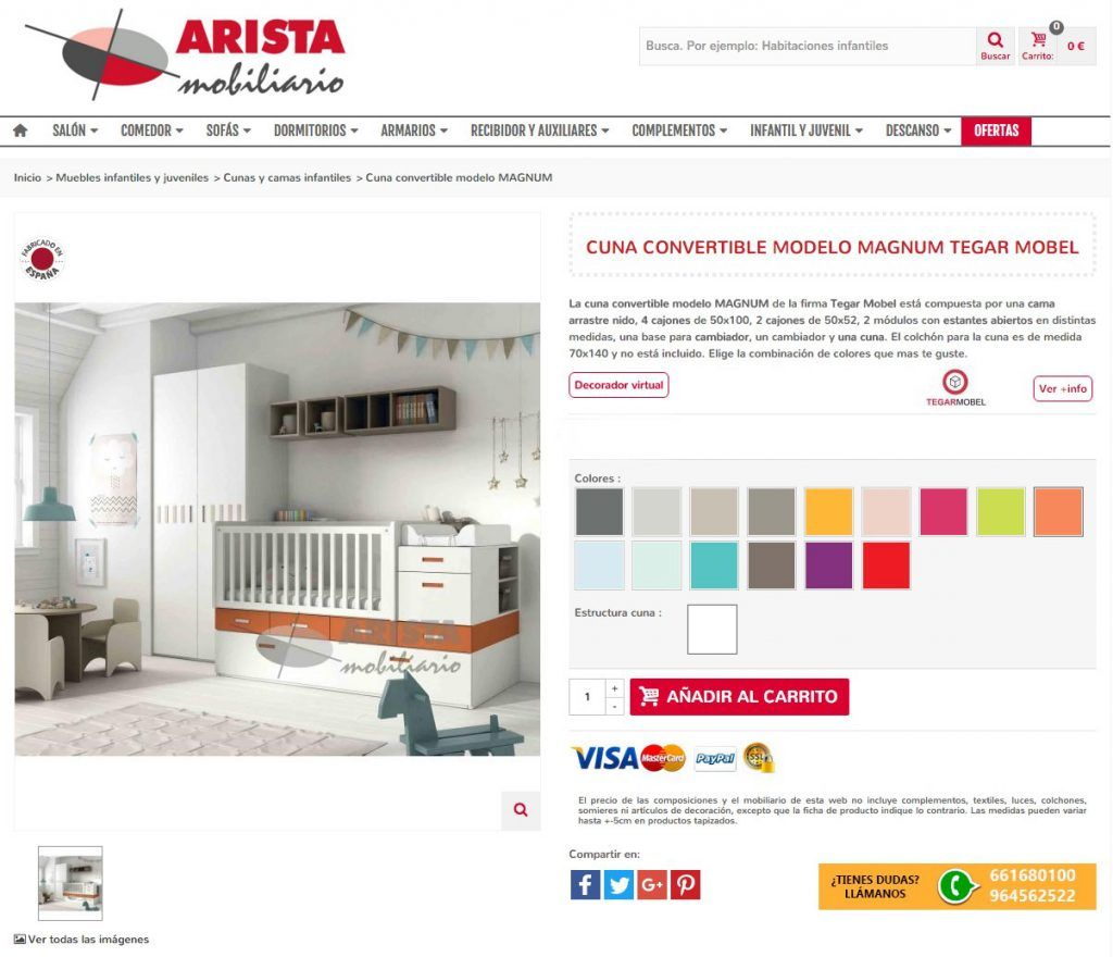 Elegir el color de tus muebles va a ser muy fácil con nuestro decorador virtual. Combina tus colores preferidos y visualiza como quedará el mueble de tus sueños.