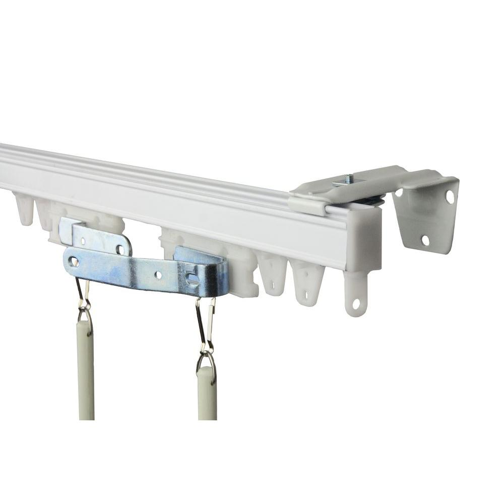 Rod Desyne 72 In Commercial Wall Ceiling Track Kit Tk6w Ceiling
