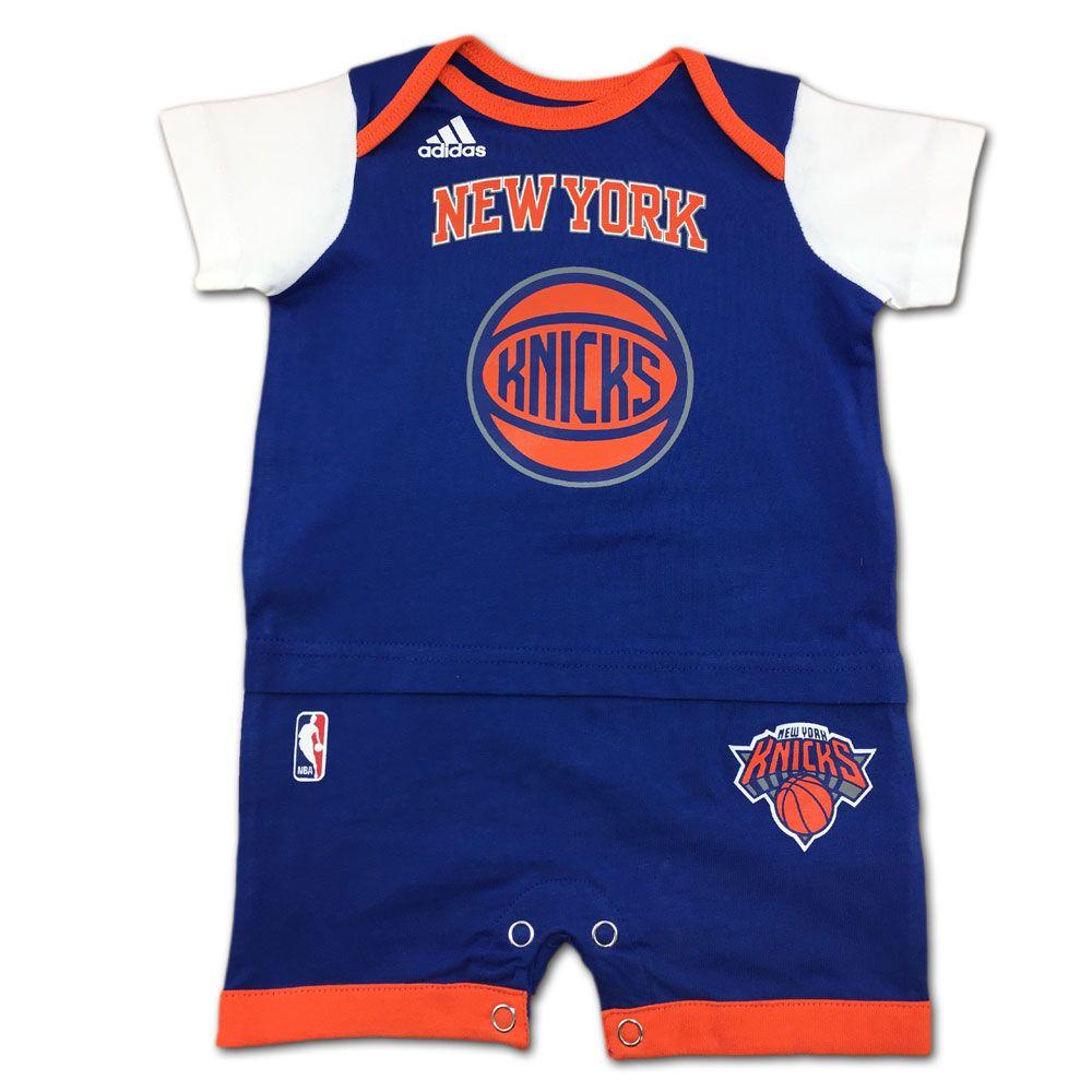 Knicks Basketball Newborn Jersey Romper  9359efa9e