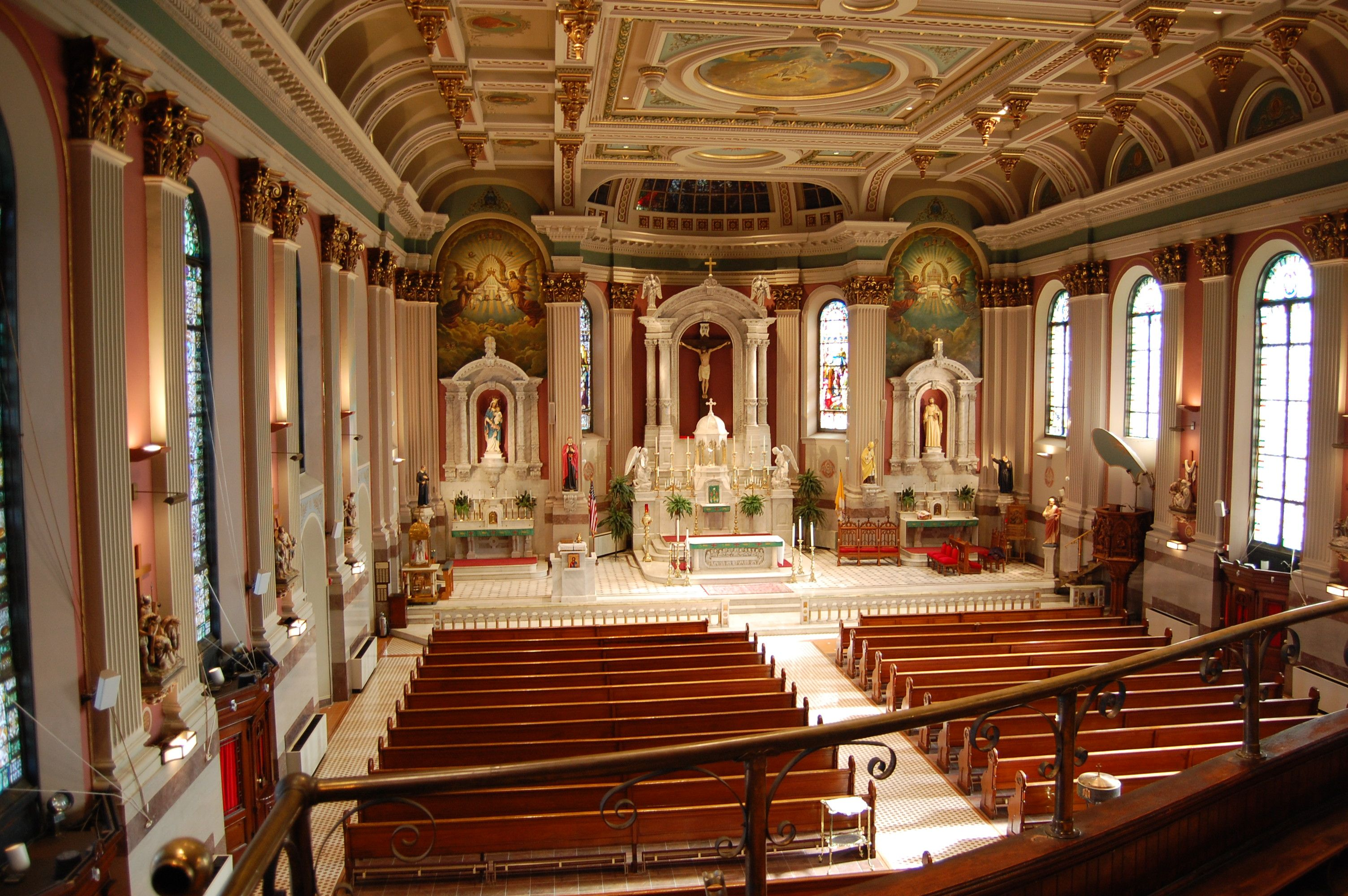 St. Peter the Apostle Church in Philadelphia, Pennsylvania