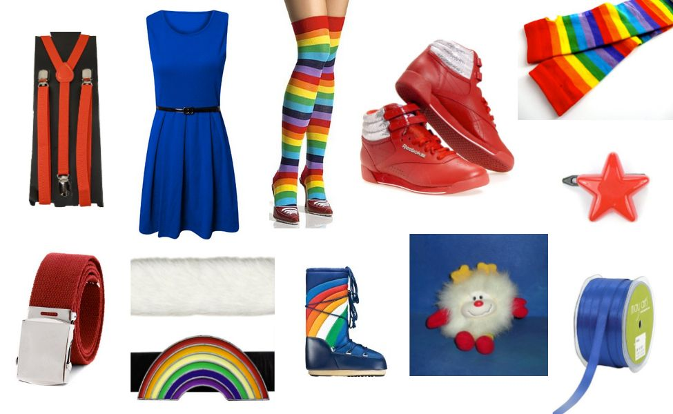 Rainbow Brite Costume