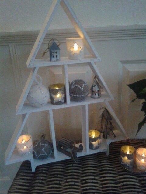 ☆houten kerstboom kerstboom van action ☆decoratie van xenos