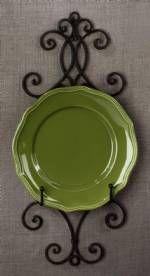 Plate Hangers - Chelsea Fancy Single Plate Rack