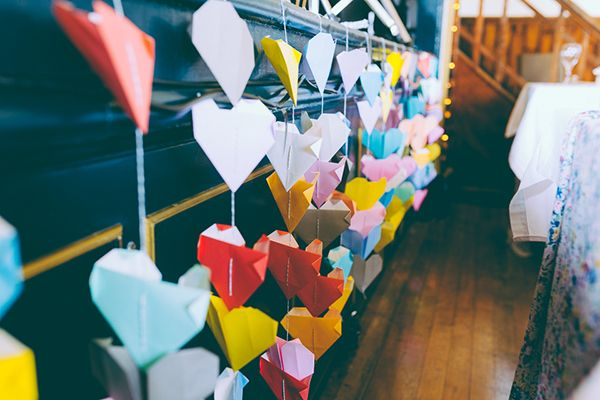 Photo of Eclectic Colourful & Quirky Homemade Village Hall Wedding | Whimsical Wonderland Weddings