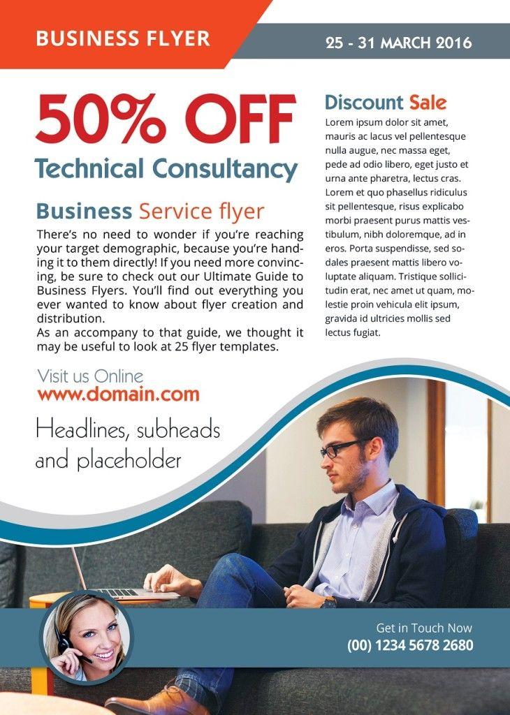 advertising flyer design flyers and brochures pinterest flyer