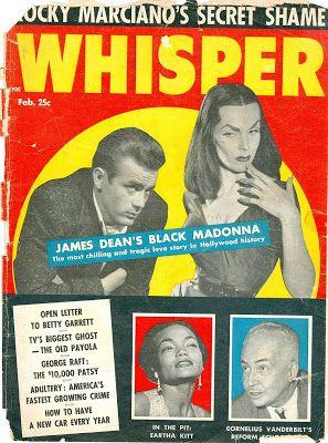 The Drunken Severed Head: Vampira and James Dean trash-talk told in a WHISPER