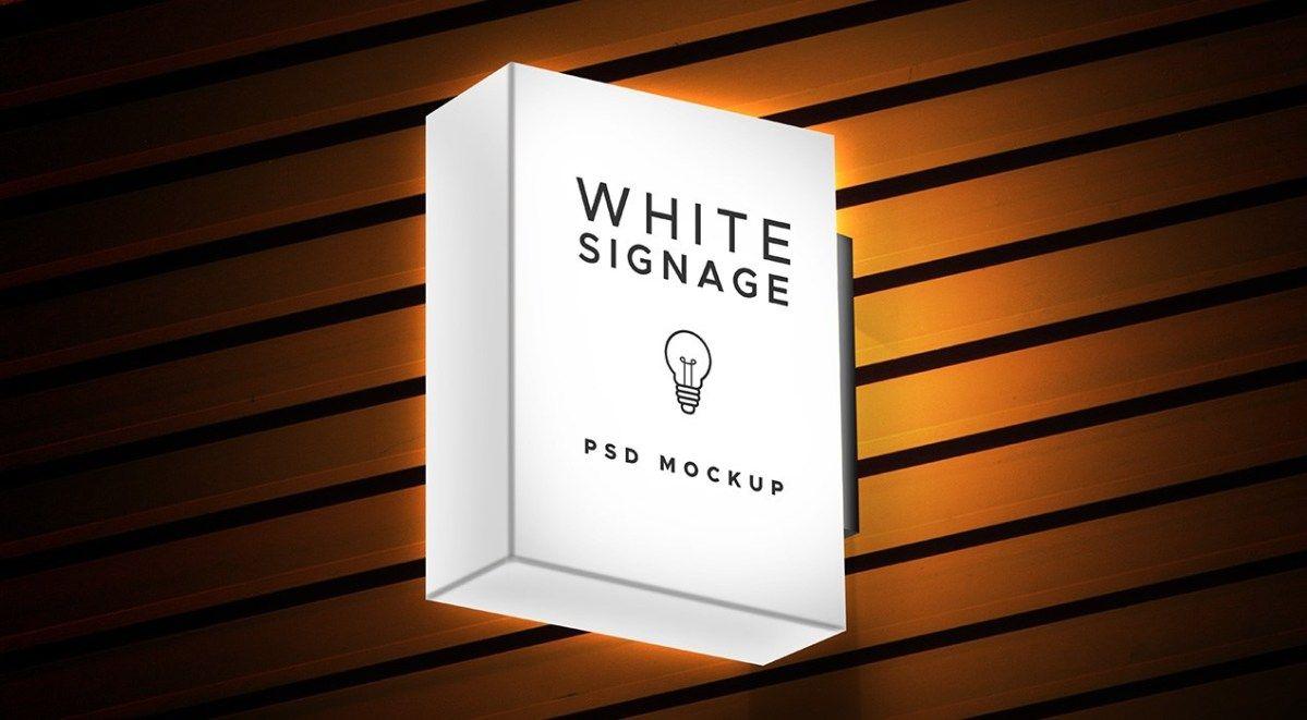 Download Light Box Display Signage Psd Mockup Graphicsfuel Light Box Display Light Box Lightbox Signage
