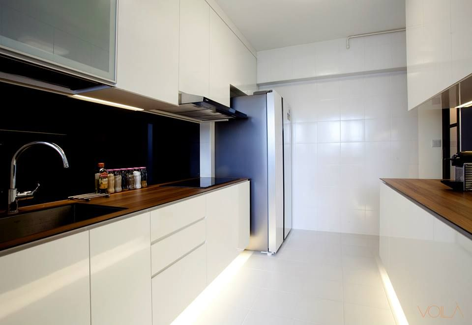Hdb scandinavian modern victorian blk 326 anchorvale for Modern victorian kitchen design
