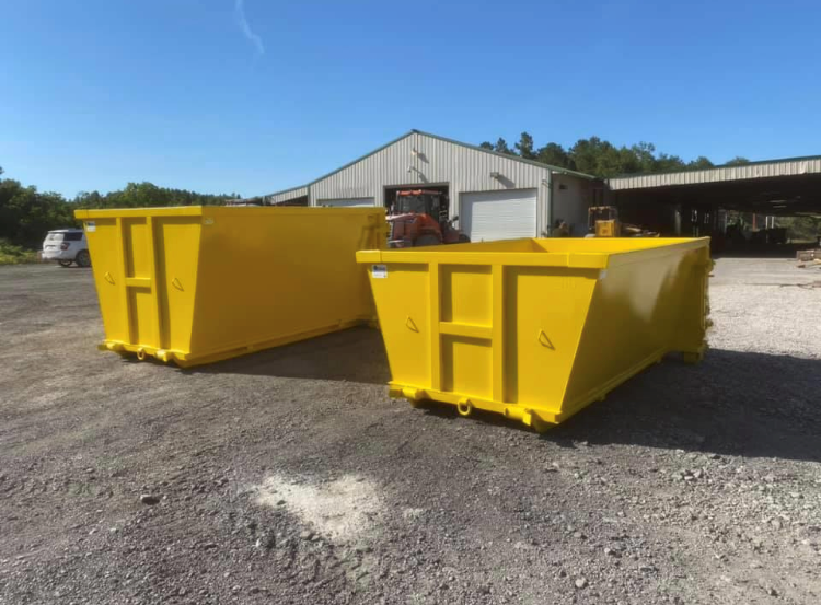 Dumpsters Built For Udump Trailers For Sale Cedar Manufacturing In 2020 Trailers For Sale Dumpsters Building