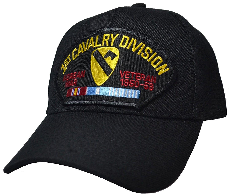 81a9fbd446b 1st Cavalry Division Korean War Veteran Cap - C912DJE14FZ - Hats   Caps