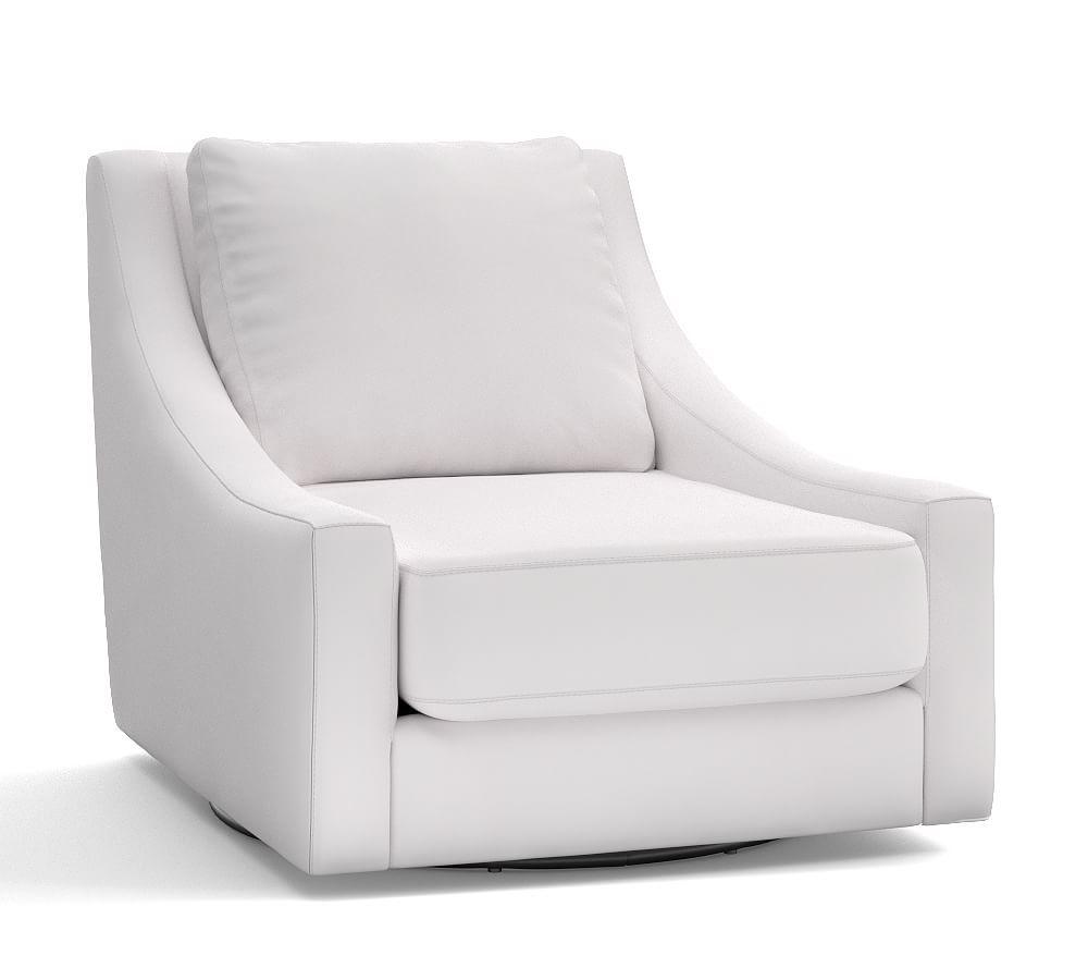 pottery barn desk chair white