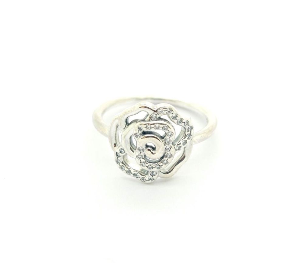 4b5617198 ... official store pandora ale 925 rose sterling sliver ring with diamonds  size 6 bf3c4 dc779