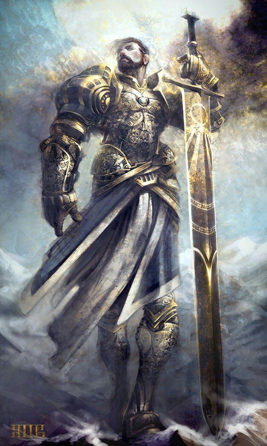 Holy Knight Art