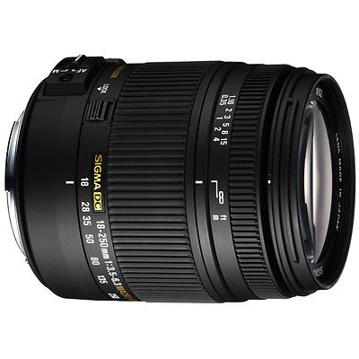 Sigma 18-250mm f/3.5-6.3 DC Macro OS HSM - Canon fit £279