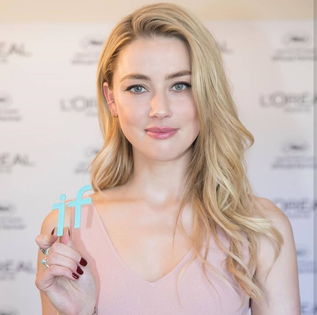 Our Beautiful Amberheard As L Oreal Paris Ambassador At Hotel Martinez During The 72nd Annual Cannes Film Festival Amber Heard Hair Hairstyle Amber Head