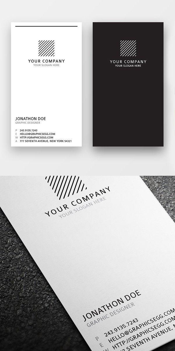 Image result for vertical business card   Веб дизайн   Pinterest ...
